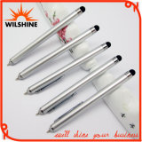 Gravity Retractable Ball Pen with Stylus Pen on Top for Giveaways (IP007)