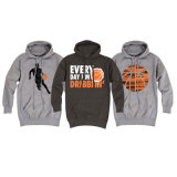 Custom Cotton Basketball Hoodies Pullover for Fans