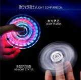 Clear LED Tri Finger Hand Spinner with Factory Private Mould