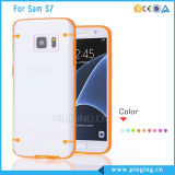 China Products Clear Hard Case for Samsung Galaxy S7