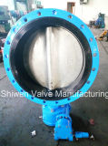 Cast Iron/Ductile Iron Flanged Butterfly Valve with Gearbox Operate