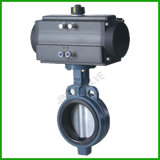Pneumatic Control Wafer Butterfly Valve with Pneumatic Actuator (D671X)