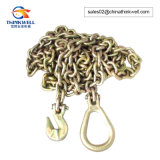 Cargo Tie Down Lashing Binding Lifting Chain with Bent Hook