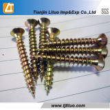 Screw, Competitive Price, White Zinc Plated Chipboard Screw