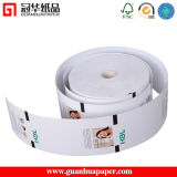 OEM Printed Bank ATM Thermal Paper with Black Sensor Mark