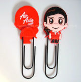 Custom Silicone Paper Clip for Promotional