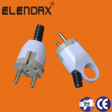 10/16A European Style 2 Pin Electrical Power Plug (P8053)