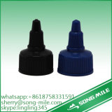 Pointed Mouth Plastic Screw Cap for Cosmetic Squeeze Bottle