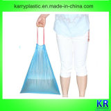 HDPE Rubbish Bags on Roll with Drawtape