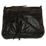 New Designer Water Wash PU Satchel Shoulder Bag for Women