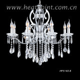 Crystal Chandelier in Chrome/ UL (HP3140-8)