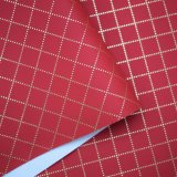 Spunlace Nonwoven Backing PU Leather for Bags, Faux Leather
