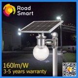 3 Watts Solar LED Garden Wall Street Lamp with LiFePO4 Battery