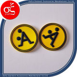 Customtized Rubber Patch Logo with Letter for Garment/Shoes