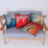 Digital Print Decorative Cushion/Pillow with Botanical&Floral Pattern (MX-63)