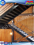 Steel Staircase/Platform/Handrail/Stairs for Workshop (FLM-SP-002)
