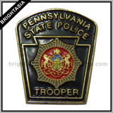 Pennsylvania State Trooper Police Badge for Custom Made (BYH-10065)