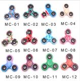 12 Camouflage Styles Finger Spinner Fidget Plastic EDC Hand for Autism/Adhd Anxiety Stress Relief Focus Toys Gift