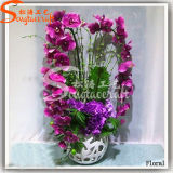 High Quality and Plastic Wedding Decoration Artificial Silk Flowers