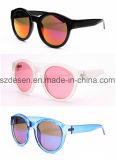 Good Quality Fashion Jelly Color Mirror Len PC Sunglasses