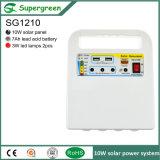 10W Solar Panel 12V Battery Solar DC Power Syetem