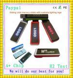 Sliding USB Memory Sticks with Customs Lighting Logo (GC-S514)