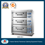 Gas Baking Oven (3-deck 9-tray) (HGO-30-3)