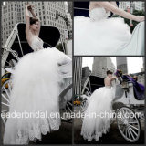 Sheer Corset Bridal Wedding Dress Tulle Lace Bridal Ball Gown W15234