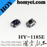Hight Quality Manufacturer Tact Switch with Registration Mast Round Button 3*4*2mm (HY-1185E)