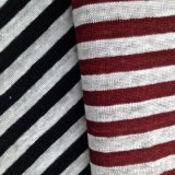Yarn Dyed Linen Knitted Fabric for T-Shirt (QF14-1546-SS)