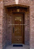 Xiamen Lion Single Wrought Iron Door Design for Apartment