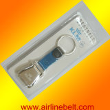 Mini Aircraft Buckle Seatbelt Keychain (airline key chain)