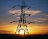 Steel Transmission Power Line Tower