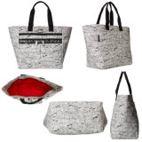 Eco-Friendly Brighten Nylon Fashion Tote Shopping Handbag Promotional Bag
