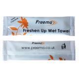 New Private Brand Customized Single Wet Napkin