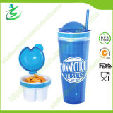 22oz as Double Wall Snack Tumbler with Private Label (TB-B302)