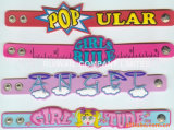 Kids Soft PVC Rubber Bracelet for Business Gift (BR013)
