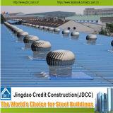 Steel Structure Workshop with Unpowered Ventilators