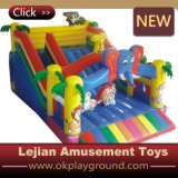 Children Favourite Playing Game Inflatable Castle Slide with CE