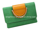 Latest Fashion PU Constract Candy Ladies Clutch Bag (KCH128)