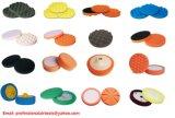 Sponge Pad Curl or Flat Face Type for Car Care Buffing Waxing Wax Disc Soft Foam Pad Polishing Wax Applicator
