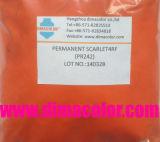 Plastic Pigment Permanent Scarlet 4RF (Pigment Red 242)