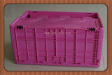 EU Plastic Folding Storage Container with Lid Manufacturer From China