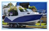 Factory Direct Supply 5.8m Aluminum Fishing Boat with Targa