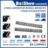 Customized Auto Pb Fe Steel Adhesive Wheel Balance Weight