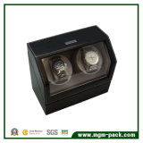 Battery Powered Single Leather Watch Winder
