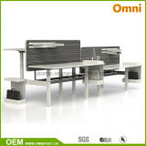 2016 New Hot Sell Height Adjustable Table with Workstaton (OM-AD-014)