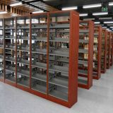 Adjustable Book Shelves Heavy Duty Metal Library Bookshelf