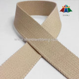 25mm Khaki Pure Cotton Webbing Tape