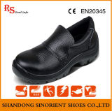 Wide Steel Toe Cap Safety Shoes with Split Leather Rh127